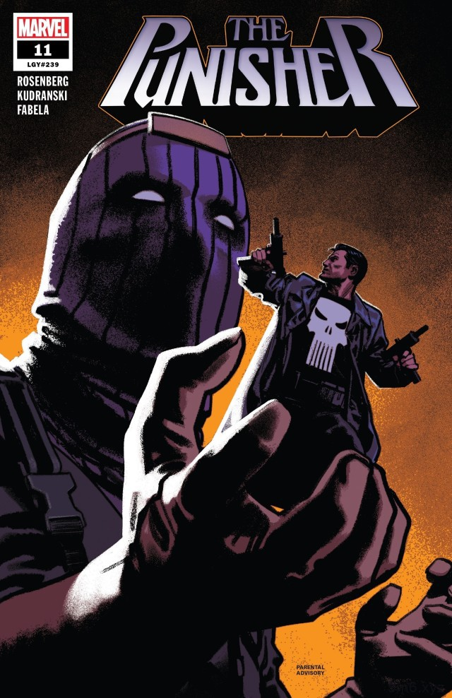 《制裁者》第11期 九头蛇与制裁者将决与死战